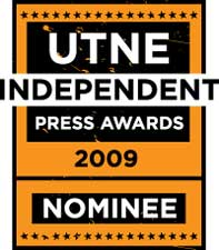 Utne Independent Press Awards Nominee logo