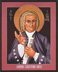 Johann Sebastian Bach, by Robert Lentz