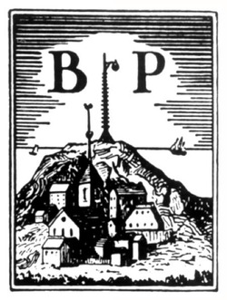 Beacon Press logo, early 20th century
