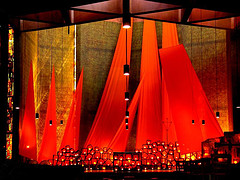 Chancel, Church of the Reconciliation, Taize, France